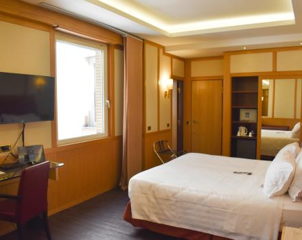 Superior room-Hotel President Rome 4 star hotel