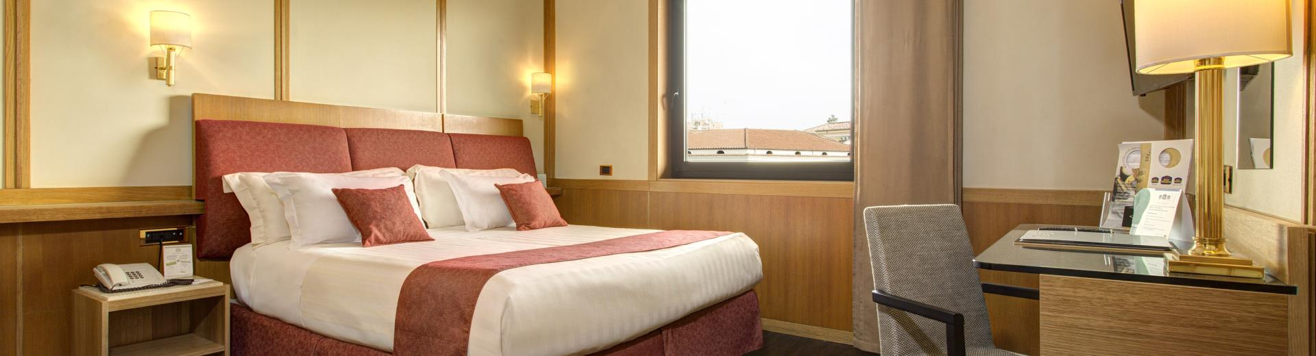 Double Comfort room-Hotel President Rome 4 star hotel