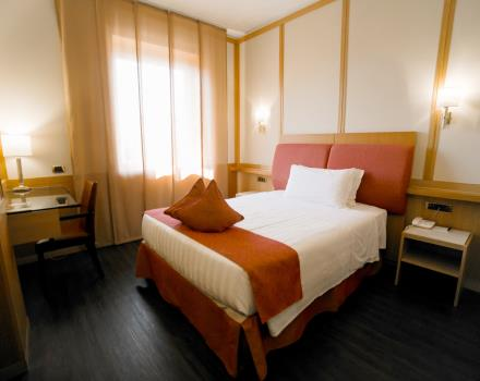 Room with double beds-Hotel President 4 stars Rome