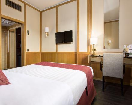 Camere economy hotel 4 stelle roma centro hotel president for Boutique hotel 4 stelle roma
